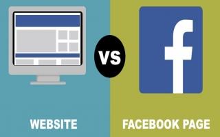 Bán hàng trên Facebook và Website, ở đâu có lợi hơn?